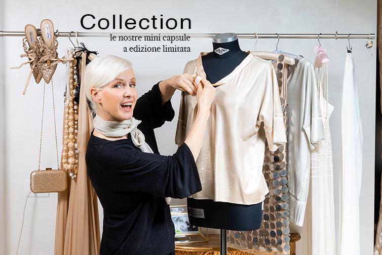La linea di abiti creata da Carla Gozzi ad edizione limitata