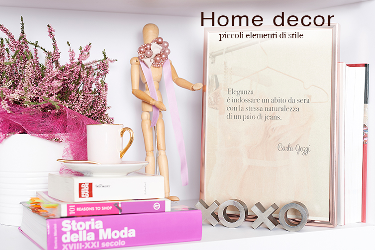 Elementi di Home Decor -Shop Carla Gozzi