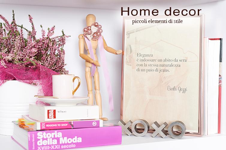Elementi di Home Decor -Shop Carla Gozzi