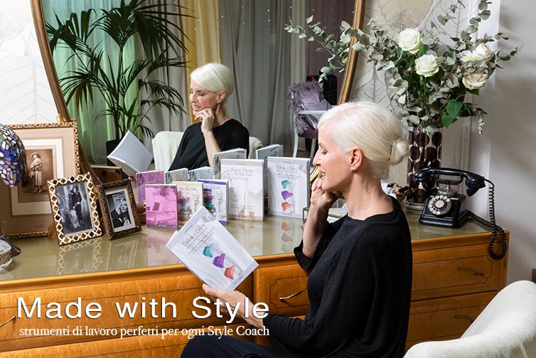 Gli strumenti di lavoro di Carla Gozzi per gli Style Coach