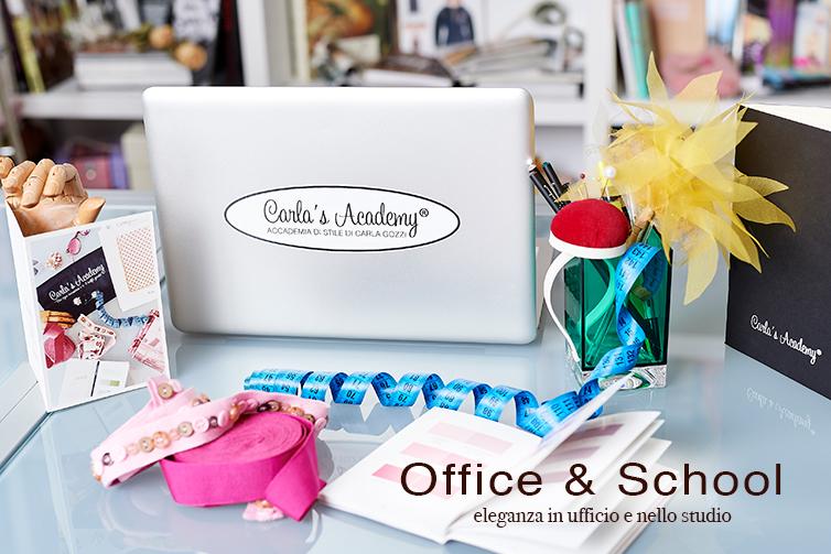 Elementi di stile in ufficio - Shop Carla Gozzi